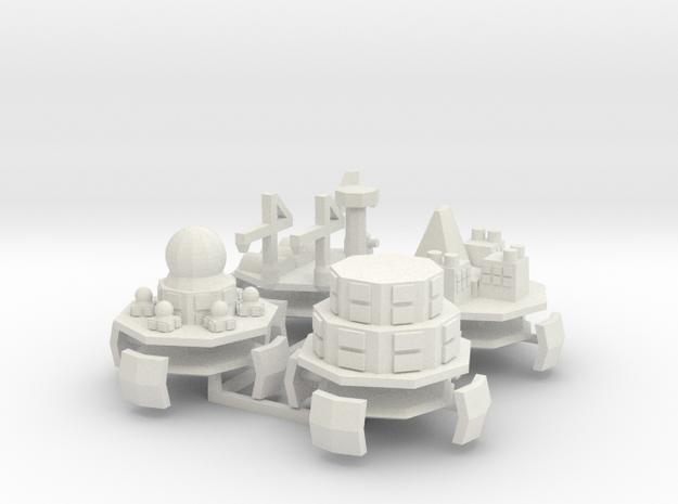 Alpini Air Fort (Science Repair Redoubt Depot) 6mm 3d printed