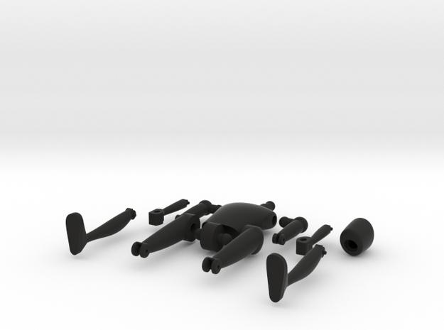 Mini Action Figure  3d printed