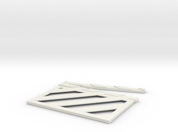 TheClapv2 in White Natural Versatile Plastic