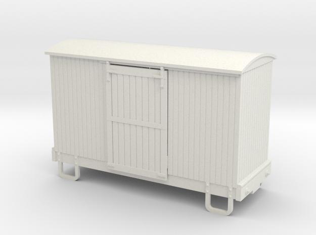 55n9 13ft 4 wheeled box car - round roof 3d printed