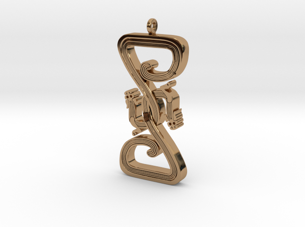 Intertwined Dragon pendant