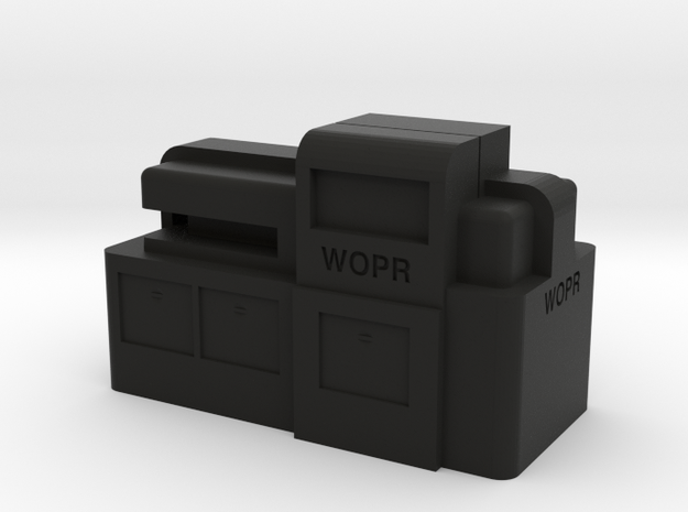 WOPR Computer, Small 3d printed