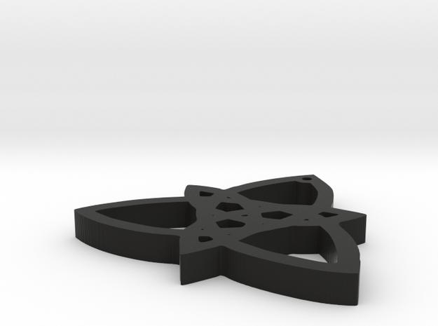 trinity knot 3d printed