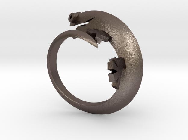 Lizerd Ring 01 ex 3d printed