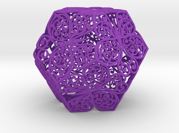 Buttefly Dodecahedron 03 3d printed