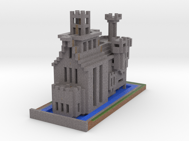 Cathedral of the Damned via Mineways!