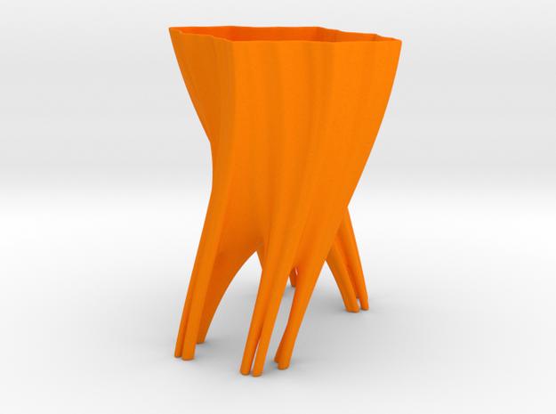 Julia Vase #003 - Roots 3d printed