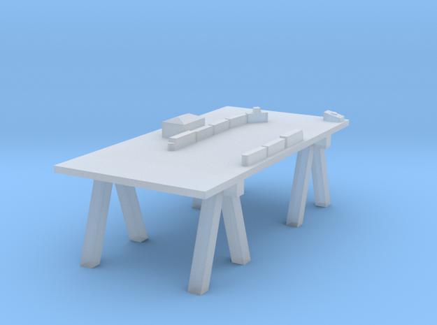 HO-Scale O27 Layout 3d printed