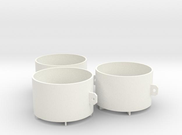 Order2-Jahel in White Processed Versatile Plastic