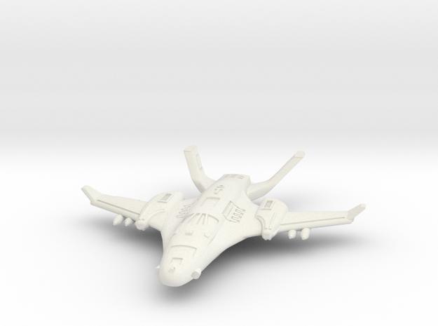 1/285 Royal Empire Raptor Fighter in White Natural Versatile Plastic