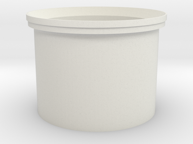 DF44 20mm 5-Stat in White Natural Versatile Plastic