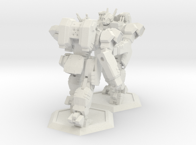 WHAM- King Sandman x2 (1/160th) in White Strong & Flexible