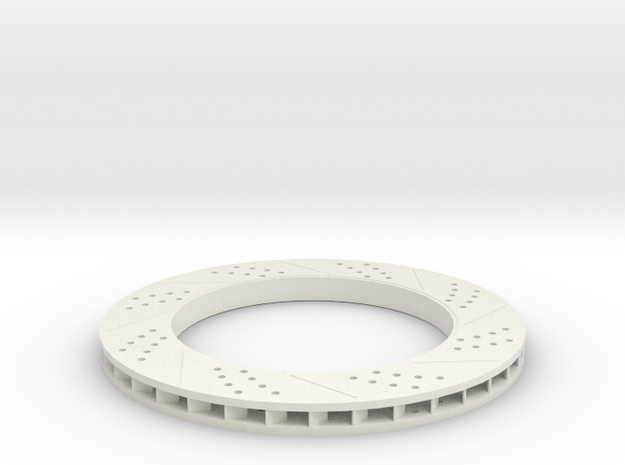 Brake Disc (Part 1) in White Natural Versatile Plastic