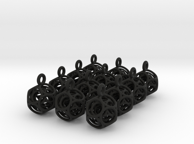 dodeca keybob (one dozen) 3d printed