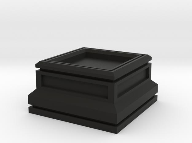 20mm Square Plinth 3d printed