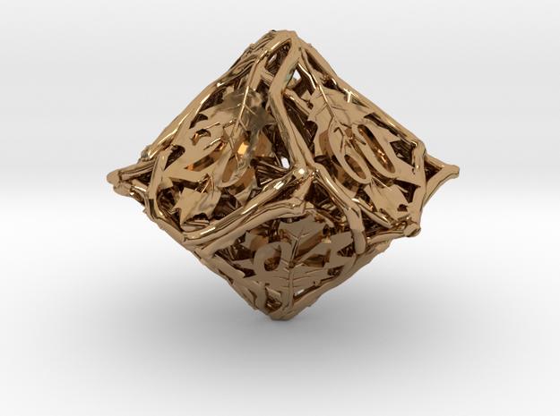 Botanical Decader Die10 (Oak) 3d printed