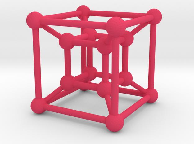 Tesseract 3d printed