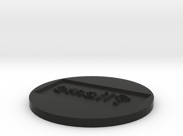 by kelecrea, engraved: email? 3d printed