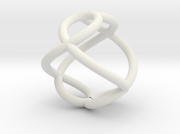 Loopy in White Natural Versatile Plastic