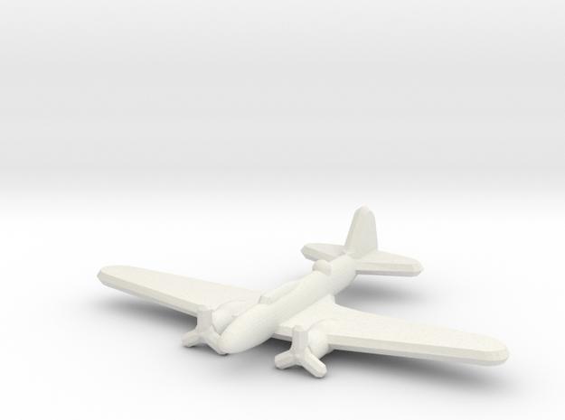 Ilyushin Il-4 1:900 in White Natural Versatile Plastic