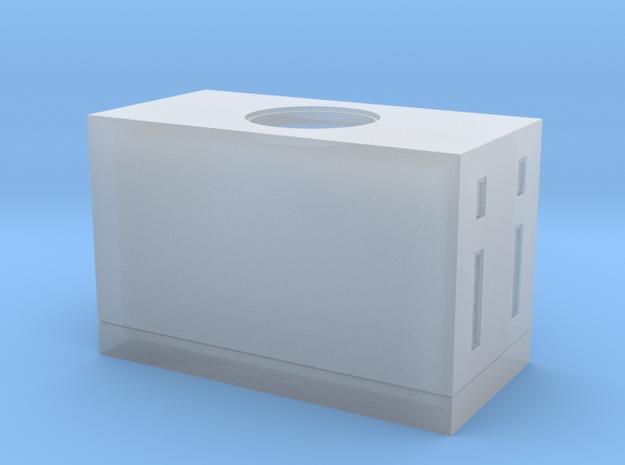 HO-Scale Concrete Utility Box w/ Centre Manhole 3d printed