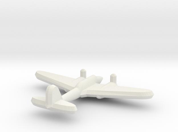 Ki-45 Nick 1:900 in White Natural Versatile Plastic