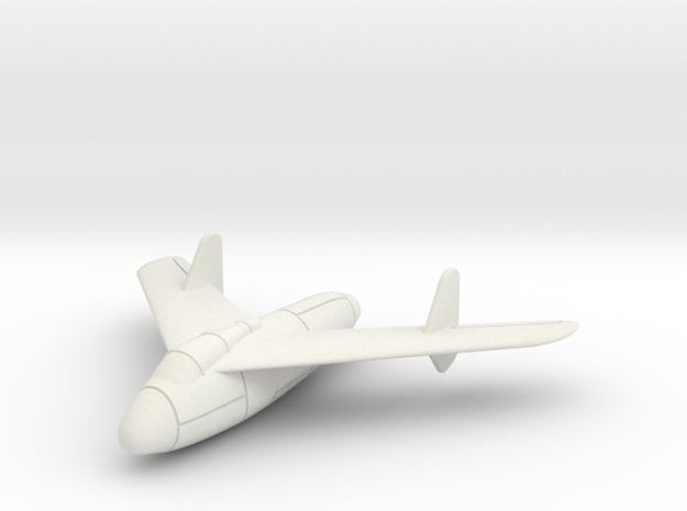 1/100 Junkers Ef-128 in White Strong & Flexible