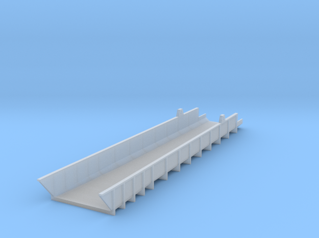 Coal Delivery Chute Narrow - Nscale in Smooth Fine Detail Plastic