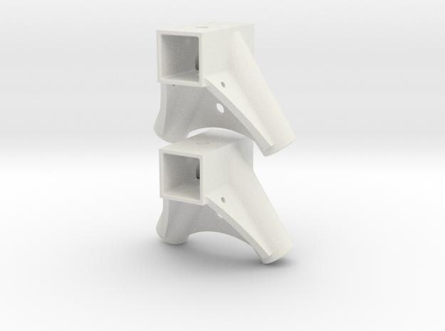 LG halter 6mm in White Strong & Flexible