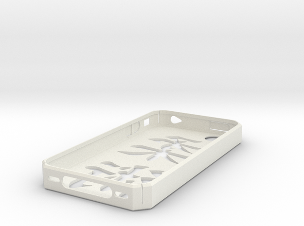 Jiu Jitsu Symbol iPhone 4/4S case (GSM/AT&T) in White Natural Versatile Plastic