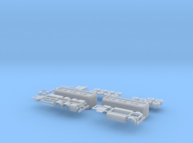 Mineralöl Lkw 02 in Smooth Fine Detail Plastic