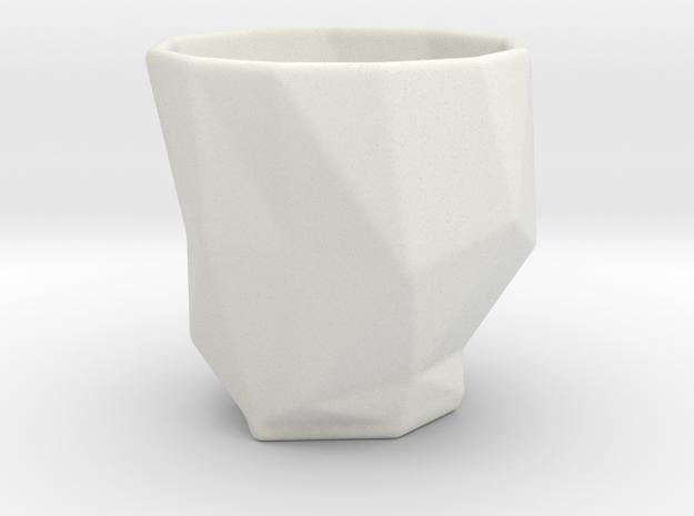 Polygonal Espresso Input Device 3d printed