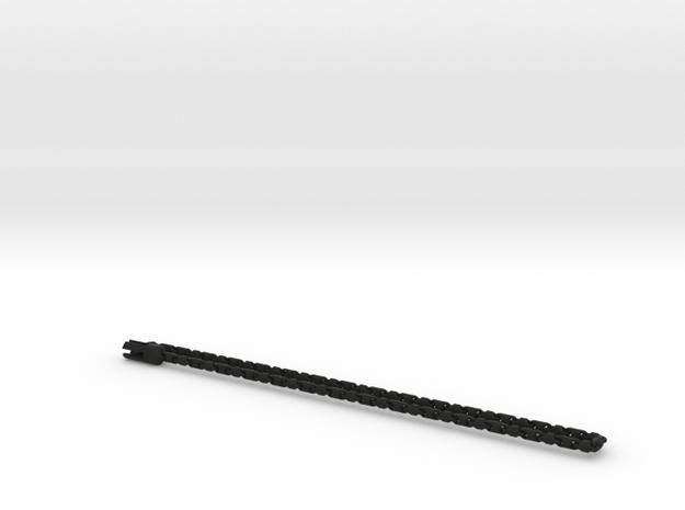 Fine barrel chain short necklace. 3d printed