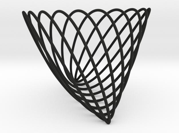 Lissajous (7, 3, 10) 3d printed