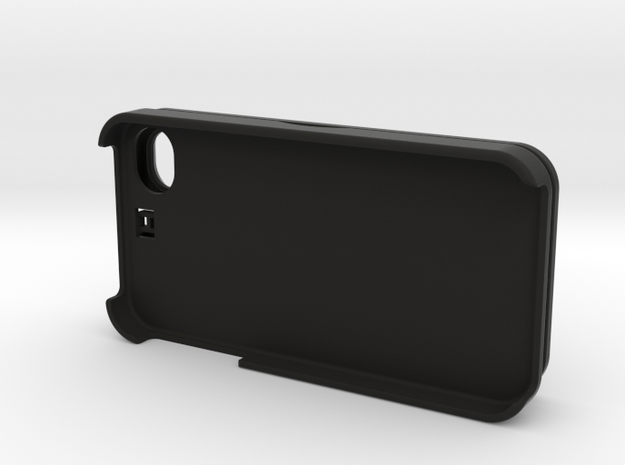 iPhone 4S Credit Card Holder Hinge Case 3d printed