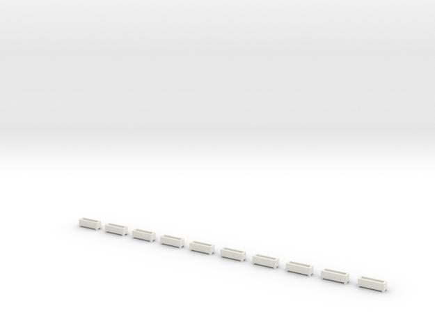 US110 - Plant Trays (H0) in White Strong & Flexible