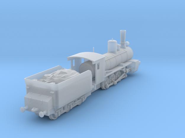 1/100 (15mm wargame) Soviet Ov class Steam Locomot