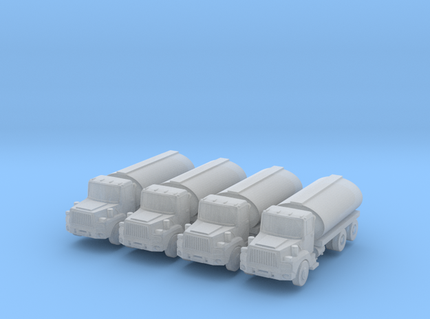 Mack Tank Truck Set - Zscale in Smooth Fine Detail Plastic