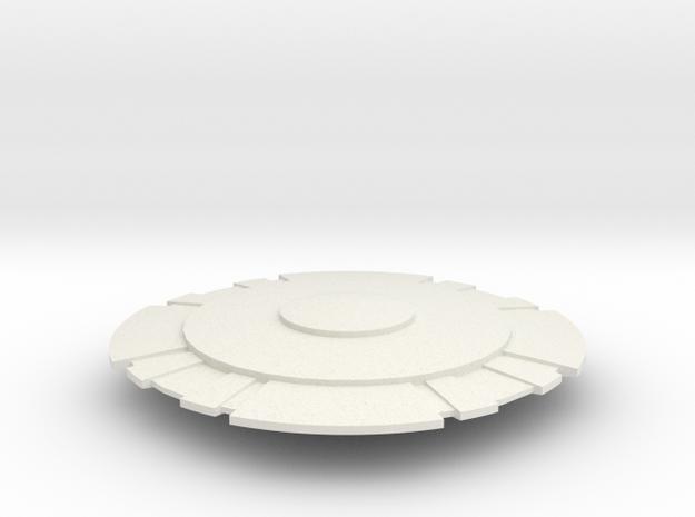 DomeSpace in White Natural Versatile Plastic