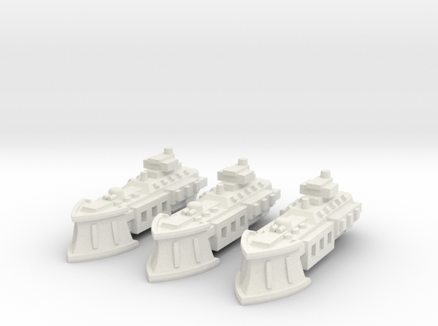 BFG Imperial System Cutter (x3) in White Natural Versatile Plastic