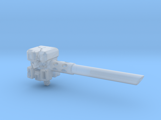 Ignoble Foe - 3mm Makeshift Battle Hammer 3d printed