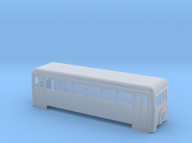 OO9 rail bus bogie (short) 3d printed