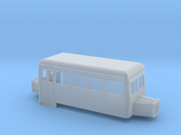 OO9 rail bus 4w double end 3d printed