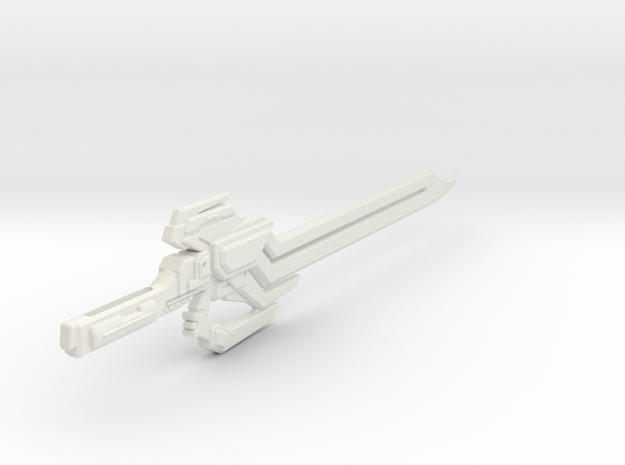 TFP Dreadwing's Big Blade (no peg) in White Natural Versatile Plastic