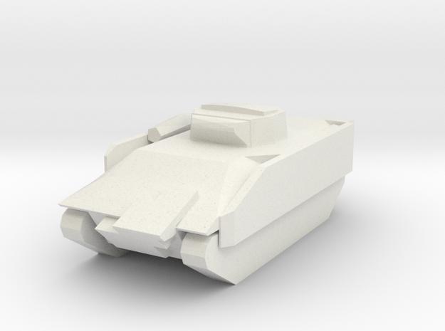 Bradley in White Natural Versatile Plastic