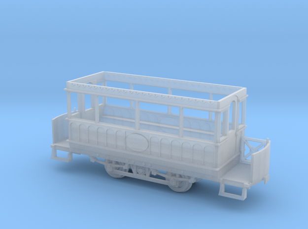 Giant's Causeway tram 2 static OO scale  in Smooth Fine Detail Plastic