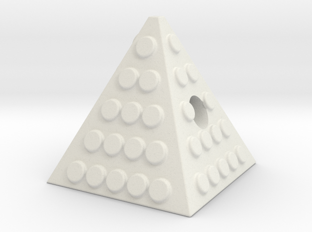 Pyramid knob 3d printed