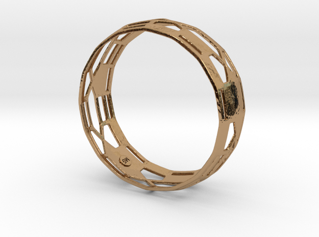 Athena Bangle 3d printed