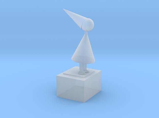 The Silent Princess From Game Monument Valley Ipad
