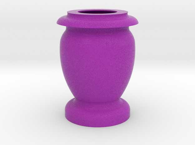 Flower Vase_9 in Full Color Sandstone